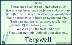 Sample Farewell Messages And Wishes To Write In A Card Note Or