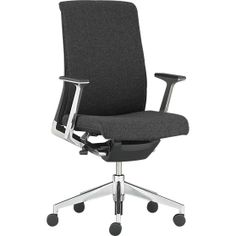 799 Usd Haworth® Very™ Charcoal Task Chair in Office Chairs | Crate and Barrel  sc 1 st  Pinterest & Very Task