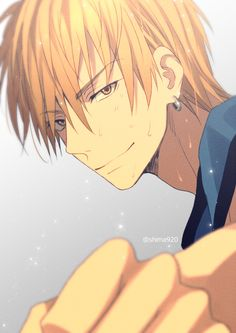 Kise Ryouta - Kuroko no Basuke - Mobile Wallpaper - Zerochan Anime Image Board Anime Boys, Hot Anime Boy, Chica Anime Manga, Cute Anime Guys, Kise Kuroko No Basket, Aomine Kuroko, Kise Ryouta, Ryota Kise, Fruits Basket Anime
