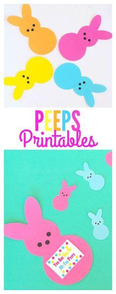 Peeps Printables