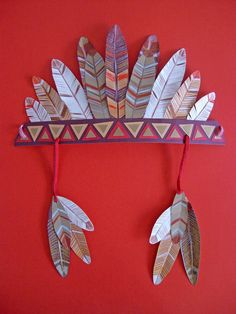Indian Headband // Disfraz de indio