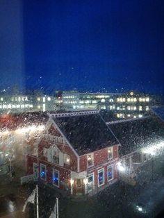 Rainy Reykjavik, Iceland