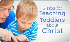 Toddlers have their own language, attention span, and understanding, which sometimes means that parents need to get creative to teach them about Christ!