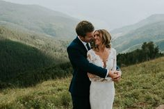 Mountain wedding at The Sonnenalp in Vail, Colorado | Image by Joel Bedford Weddings and M. Lindsay Shuptar