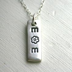 MOM necklace! Simple and sweet. $19 #jewelry #necklace #mom