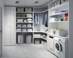 Wardrobes and dressing rooms - - Wardrobes and dressing rooms – -You can find Wardrobes and more on our website.Wardrobes and dressing rooms - - Wardrobes and dressing rooms – - Room Remodeling, Laundry Design, Laundry Closet, Stylish Laundry Room, Room Layout, Room Design, Dressing Room