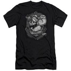 Popeye Anchor Logo Kids T-Shirt