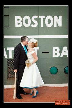 Seriously wish we could do this!!   Boston Wedding Photography, Boston Event Photography, Fenway Park Wedding, Boston Wedding Venues, Unique Boston Wedding Venues