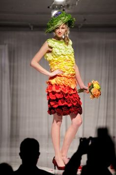 Jaw-Dropping Flower Dresses from Fleurotica Raised More Than $80,000 for Garfield Park Conservatory