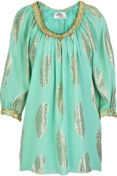 Milly Paisley-embroidered blouse | NET-A-PORTER