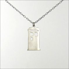 Tardis Pendant | The ExCB