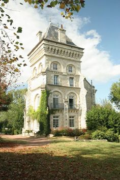Stunning architecture - Neogothic Chateau exterior in France. Beautiful Architecture, Beautiful Buildings, Beautiful Homes, Architecture Design, Beautiful Places, French Architecture, Victorian Architecture, Interesting Buildings, Fachada Colonial