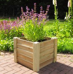 1000 Images About WOODEN PLANTERS On Pinterest Wooden Planters Outdoor De