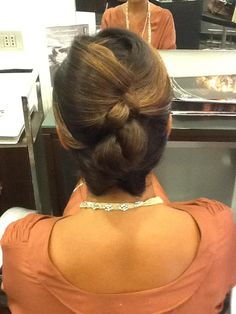 #acconciatura #hairdress #hairstyle #hairstyling #capelli #wedding #party #look #cerimonia #parrucchiere #pinogirone #bari