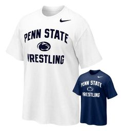 Penn State Wrestling Nike Adult T- Shirt  The Family Clothesline - www.pennstateclothes.com