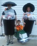 Taking out the Trash Costume - 2016 Halloween Costume Contest