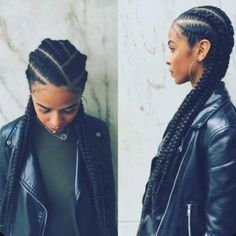 Goddess Braids Hair Inspiration – Ari R Goddess Braids Hair Inspiration Lengthy With A Twist – 25 Beautiful Black Women Rocking This Season's Most Popular Hairstyle Black Girl Braids, Girls Braids, Cornrows Braids For Black Women, Two Braids Hairstyle Black Women, Long Braids, Braided Hairstyles For Black Hair, French Braids Black Hair, Braids For Black Women Box, French Twist Braids