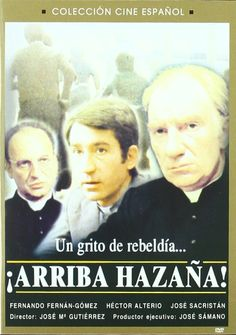 """¡Arriba Hazaña! (DVD ESP GUT), basada en la novel·la """"El infierno y la brisa"""" de José María Vaz de Soto."""