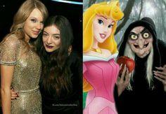 Sou fã da Lorde desde que ela interpretou a bruxa da branca de neve  #LordeNoMultishow pic.twitter.com/4yfGGOvhht