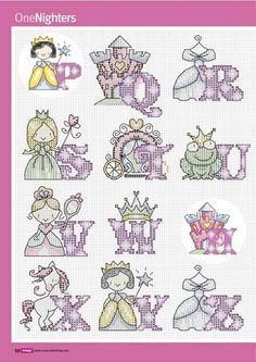 Abc princesas