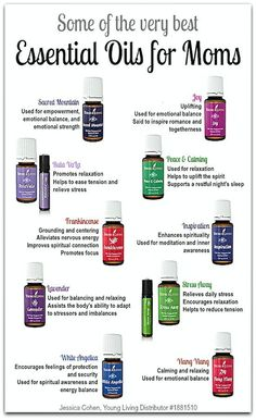 Some of the very best essential oils for busy moms