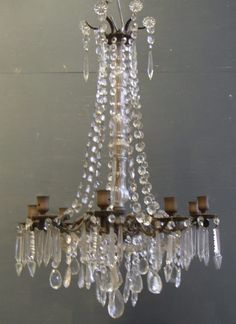 French Chandelier...this makes my toes tingle...