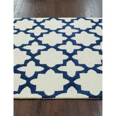 nuLOOM Handmade Moroccan Trellis Ivory Wool Rug (8'3 x 11') | Overstock.com Shopping - Great Deals on Nuloom 7x9 - 10x14 Rugs