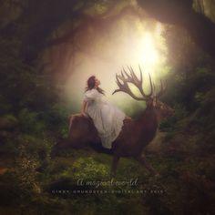 A magical world by CindysArt.deviantart.com on @DeviantArt