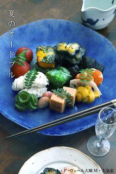 「夏野菜たちが皆上等な顔になって並んでいます。」   【和食器ブログ】和食器の愉しみ 工芸店ようび Fresh Rolls, Ethnic Recipes, Food, Essen, Meals, Yemek, Eten