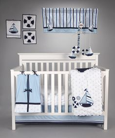 Take a look at this Little Sailor Crib Bedding Set by Bacati on #zulily today!