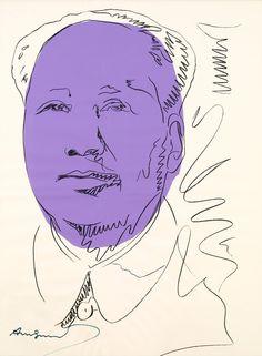 Mao, 1973. Andy Warhol