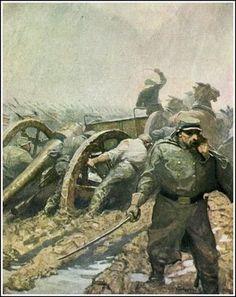 N. C. Wyeth ~ War Between the States