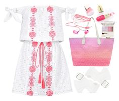 """""""Pampelone Capri Embroidered Dress"""" by thestyleartisan ❤ liked on Polyvore featuring Pampelone, MISCHA, Charlotte Russe, Winky Lux and Acne Studios"""