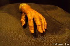 Joyeria: Hermosa mano tallada en madera de cerezo - Foto 4 - 71121913
