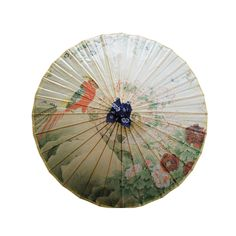 Chitao Hand-painted Chinese Vintage Oil-paper Umbrella with Blossoming Pattern