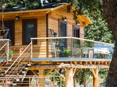 Atsipopoulo house rental - In the centre of Stolidi mou Residence a dreamy treehouse, ready to welcome you! Outdoor Spa, Outdoor Decor, Jacuzzi, Villa, Treehouses, House Styles, Holiday, Centre, Travel