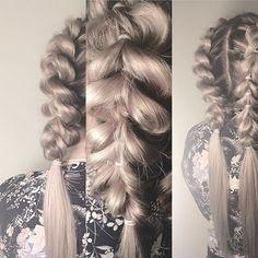 •Double mohawk braid• #double #mohawk #mohawkbraids #style #ash #inspiration #braidideas #braidstyles #hairstyle #stylist #shirlbraids