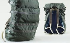 A rare army green 'Traveler Pack' from Gerry. The pack contains four compartments designed for equal weight distribution. Late '60s – early ...