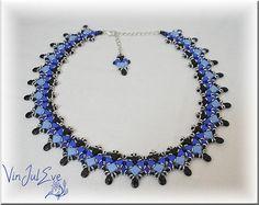 Schema necklace Ascea by Vinjuleve on Etsy