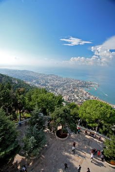 LEBANON, view from Harissa