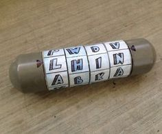 DIY cryptex. full tutorial, really going to try to make this someday!