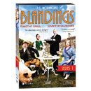 "Blandings.  From www.acornonline.com for $40 Eccentric aristocrat Clarence Emsworth (Timothy Spall, The King's Speech) longs for peace and quiet, but his tumbledown country estate is under siege as never before. His terrifying sister Charlotte arrives, his dimwitted son Freddie can't stop causing trouble, and his brother's shocking memoirs threaten to ruin the whole family. Based on the ""Blandings Castle"" stories by P.G. Wodehouse, set in 1929."