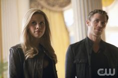 """The Murder of One""--LtoR: Claire Holt as Rebekah and Joseph Morgan as Klaus on THE VAMIPIRE DIARIES on The CW. Photo: Bob Mahoney/The CW ©2012 The CW Network. All Rights Reserved."