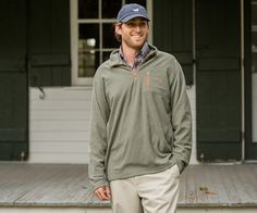 Size M - Sandstone - Southern Marsh Collection — FieldTec™ Dune 1/4 Zip Fleece Pullover - Essentials