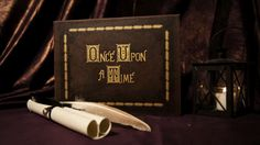 Once Upon A Time Storybook Book Replica by TwilightCraftsLLC