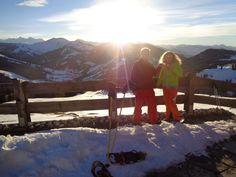 #sundowner #Stimmung #Glühwein #Zweisamkeit #Hochkönig #Dienten #Vital Hotel Post Vital Hotel, Mount Everest, Poster, Mountains, Nature, Travel, Mood, Sunset, Naturaleza