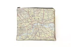 London vintage map padded tablet / iPad case from Salmon and Moth.