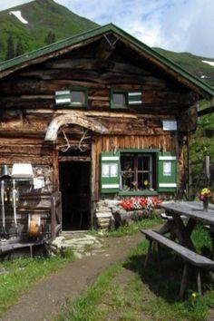 Cabin in the Alps, Austria
