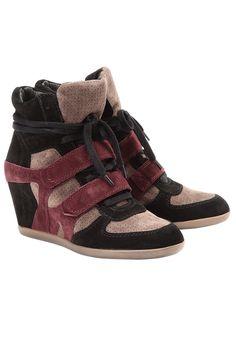 ASH  Sneakers Cuir    Compensées