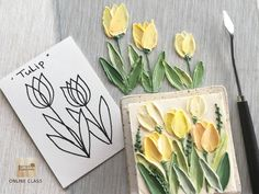 Hello member of paint on cake class! Tulip availble in Online class. ON LINE C… – Cake Decorating Techniques Cake Decorating For Beginners, Cake Decorating Techniques, Cake Decorating Tips, Cookie Decorating, Buttercream Flower Cake, Cake Icing, Eat Cake, Cupcake Cakes, Frosting